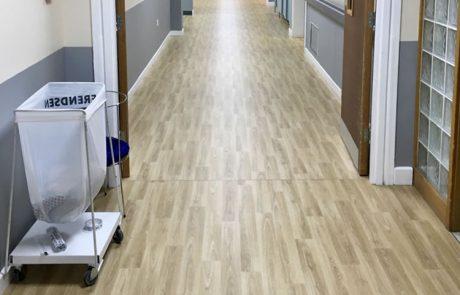 Rotherham General Hospital xray corridor