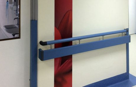Altro Hygienic feature ArtPanel for Barnsley District General Hospital