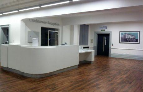 Tarkett luxury vinyl flooring for Northern General Hospital, Sheffield