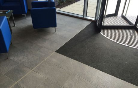 Entrance way flooring