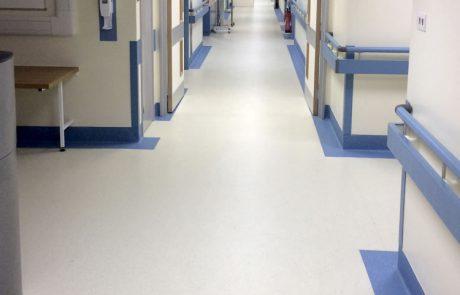 hospital ward hygienic flooring