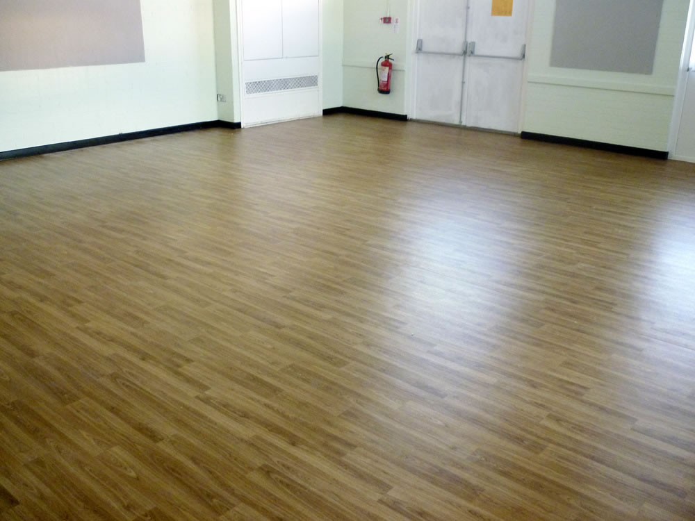 Wood Effect Laminate Flooring For A Community Centre In South Yorkshire