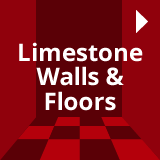 limestone floor and wall tiles