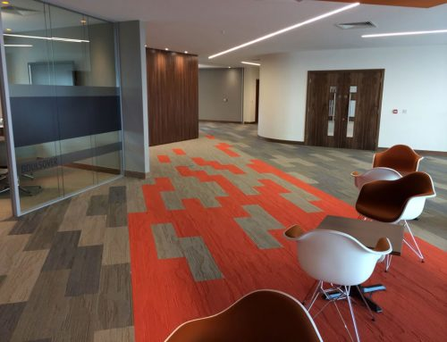 NEW BUILD OFFICE GETS ADVANCED FLOORING