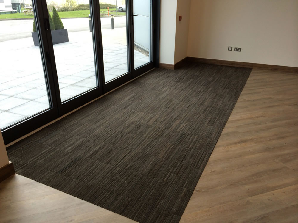 New Build Office Gets Advanced Flooring A Cumberlidge