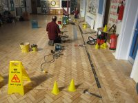 A Cumberlidge to the rescue! Saving a timber block floor from water damage