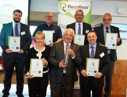A Recofloor Bronze Award from Kevin Keegan!