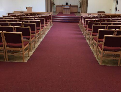 New carpet for local crematorium