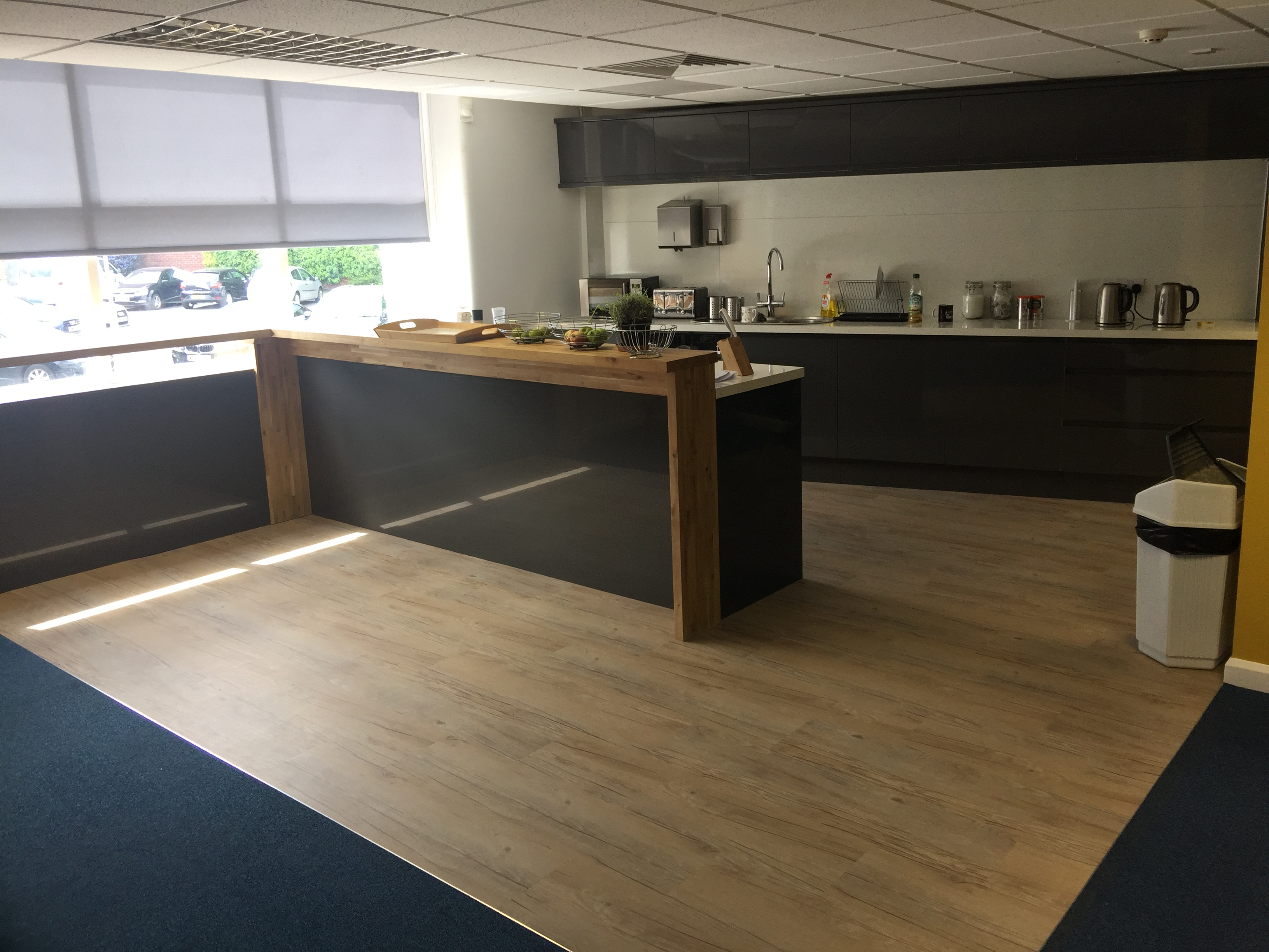 New flooring from A Cumberlidge after Perkbox expand and move to new premises