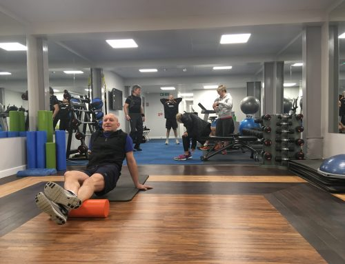 Platinum fitness with a floor to match