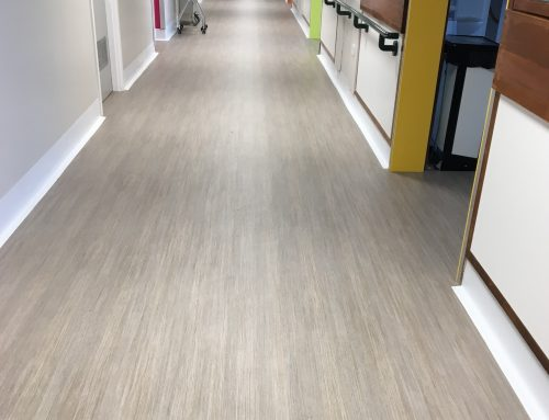 Friendly flooring for dementia ward