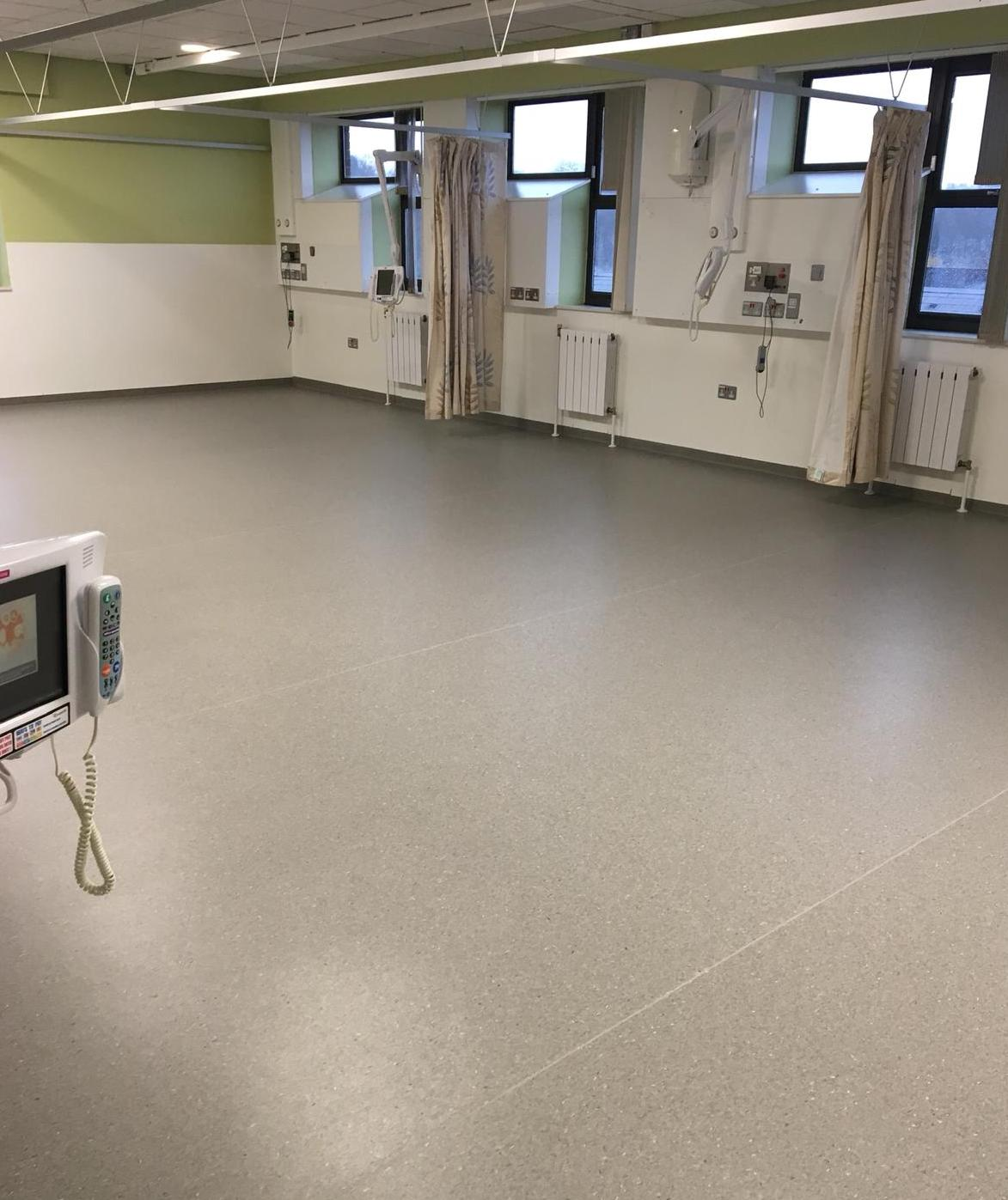 Full ward refurb for Firth 8 dementia-friendly ward at Northern General hospital by A Cumberlidge