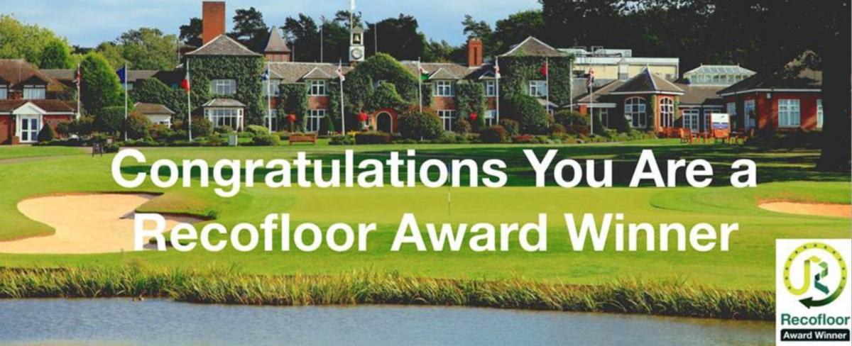 Recofloor Bronze Award for A Cumberlidge