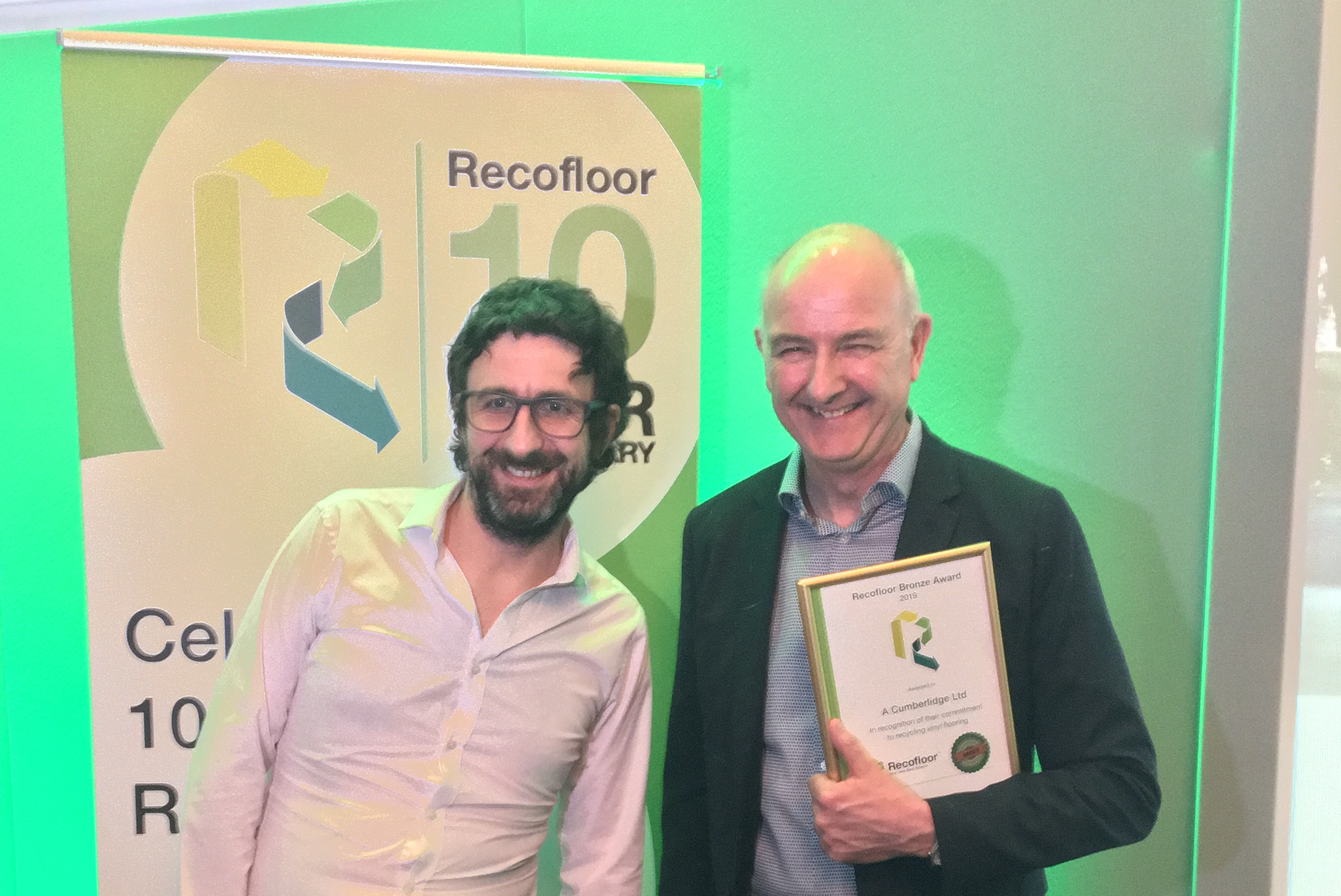 A Cumberlidge at the Recofloor Awards