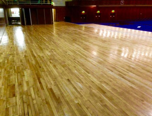 Flooring takes centre stage at Sheffield City Hall