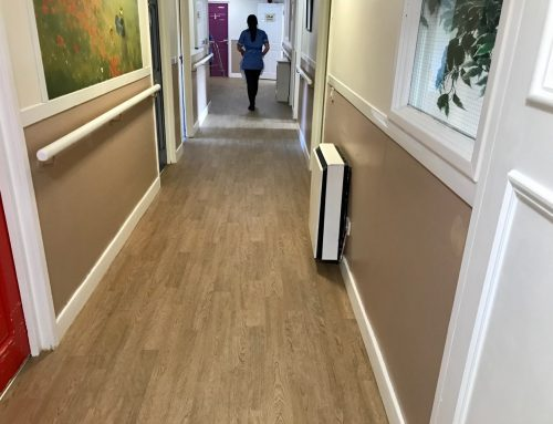 Specialist dementia care home gets flooring makeover
